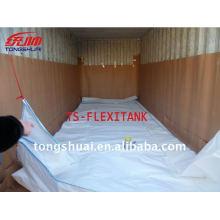 Flexitank para transporte de líquidos a granel