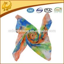 Fleur colorée imprimée Fashion Lady Scarf