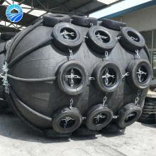 Expédition à l'amortisseur de dock en caoutchouc de quai avec le pneu d'avion