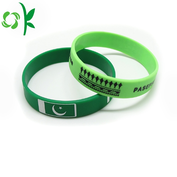Custom Brand Silicone Wristbands