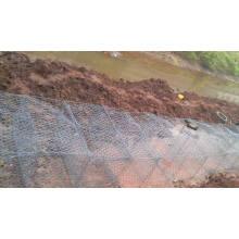 Rock Cage Retaining Wand Textur / Gabion / Reno Matratzen