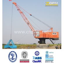 Mobile type column mounted port slew jib crane