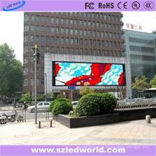 P8 impermeable al aire libre 3 en 1 cartelera LED para publicidad