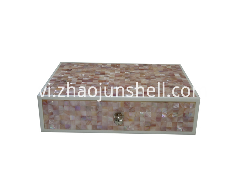 pink shell amenity box