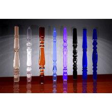 Colonnes de verre cristallisé