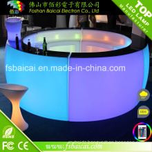 Hot Sale LED Round Table / Bar Counter