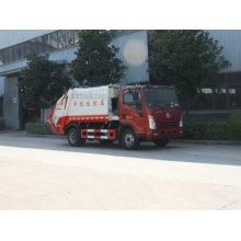 6CBM Dayun Euro 5 Small Compactor Garbage Truck