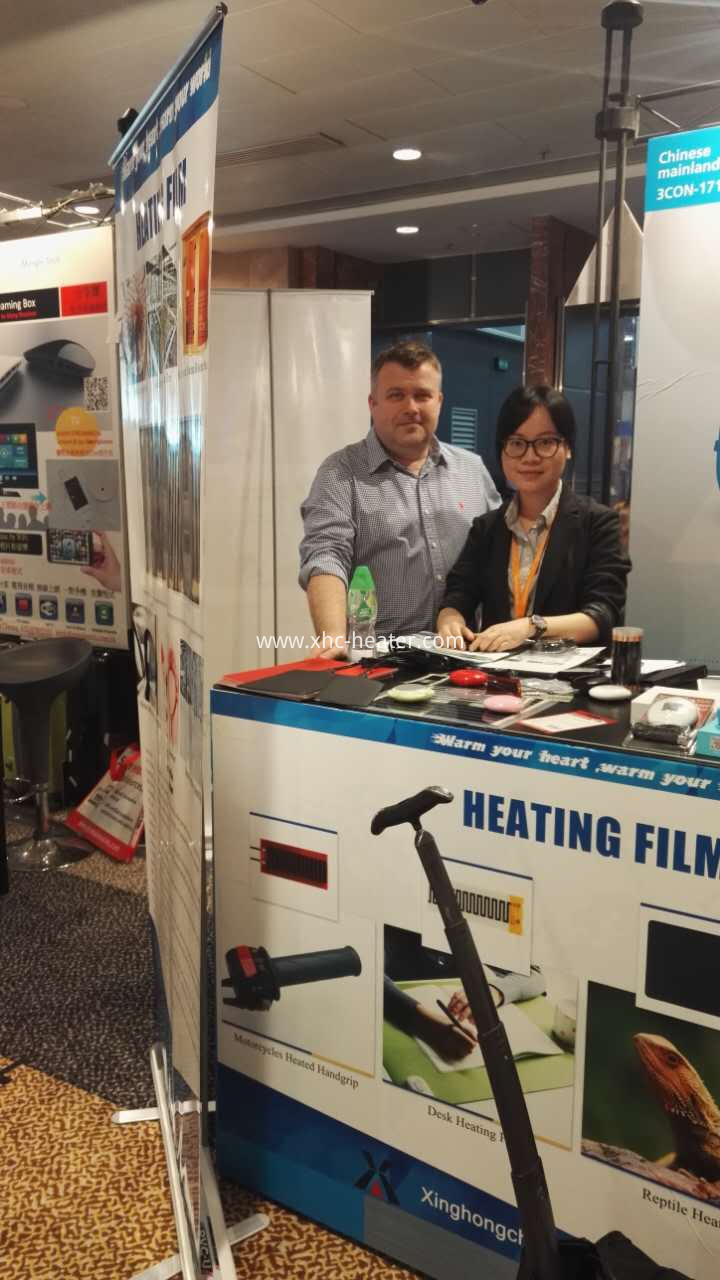 heating film and hand warmer customer