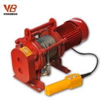 Tipo guincho elétrico 200kg-2000kg do equipamento de levantamento KCD da família ou da fábrica