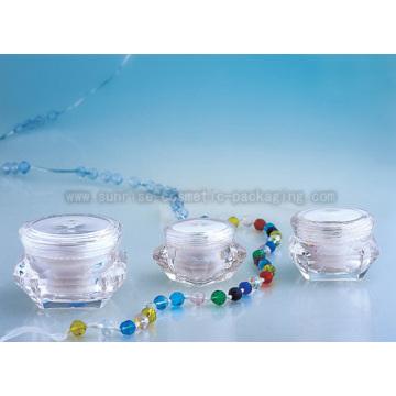 Diamond Shape Cream Jar J060A