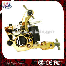 Profissional Pro Quiet Light Rotary tatuagem Motor Machine Gun 10 envolve bobinas