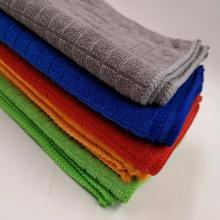 Weft Knit Microfiber Kitchen Home Cleaning Fabric Towel