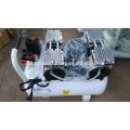 Compresor de aire sin aceite dental de 50L 0.55KW de poco ruido