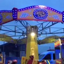 preprogrammable rgb amusement lighting for amusement rides
