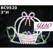 holiday crystal tiara