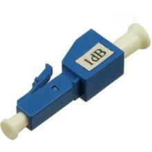 Atténuateur de fibre optique plugin, atténuateur de fibre lc 10db 15db / atténuateur de réseau lc upc