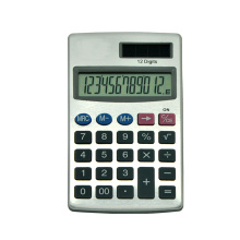Elektronische Mini Pocket Solar Power 12 cijfers Calculator