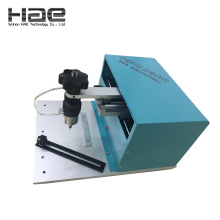 Electric plate dot peen marking machine