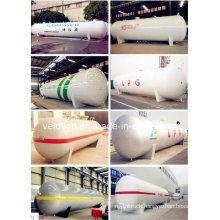 Nigerian 50000liters LPG Cooking Gas Tanker for Sale