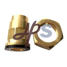 Encaixe de bronze da solda do medidor de água para o tubo de cobre