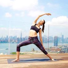 Modedigital gedruckte Artfrauen Yoga-Sportgamascheneignung druckte Gamaschen