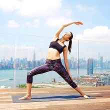 Moda digital impresso estilos mulheres yoga esporte leggings fitness impresso leggings