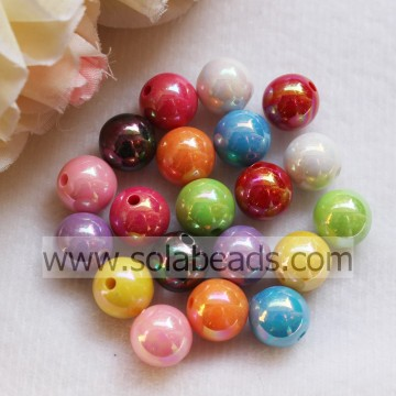 Event 12mm Necklace Round Smooth Imitation Swarovski Beads