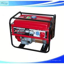 5KW Home Power Портативные электрические бесшумные одиночные бензиновые генераторы