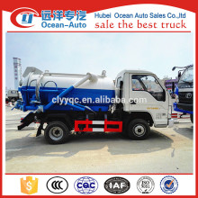 FOTON Mini Sewage Suction Truck Sewage Truck