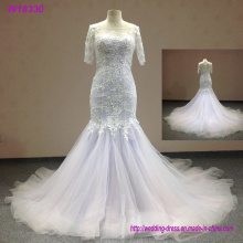 Unique Wedding Dresses Sweetheart Tulle Summer Wedding Dresses Pearl Custom Made Beach Wedding Dresses
