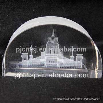 Crafts 3D Laser Engraved Crystal Cube