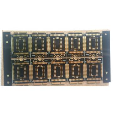 4 layer 0.8mm ENIG Gold fingers Blind holes impedance control board