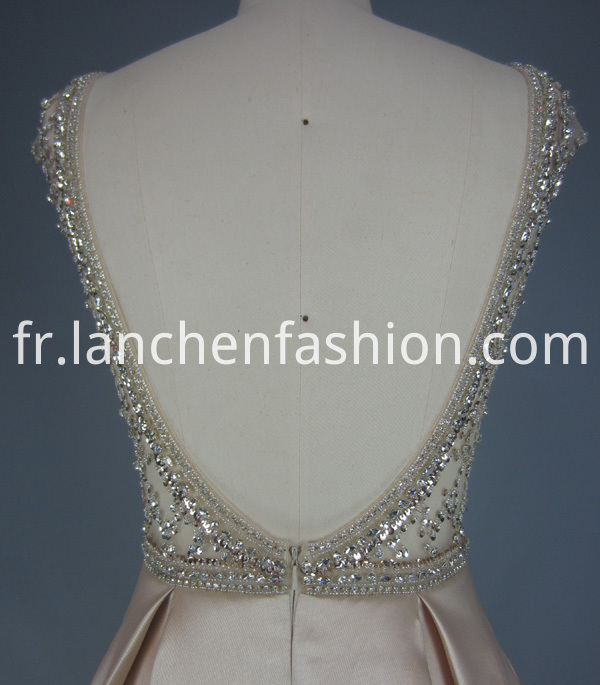 Beading Rhinestone Dress