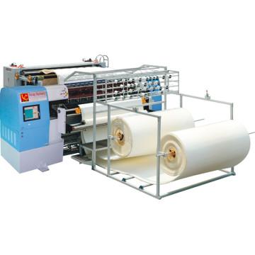 Yuxing Alta Qualidade Industrial Ponto Cadeia Multi-Agulha Quilting Máquina para Colchões