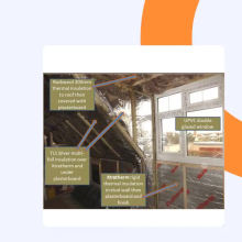 Ruban adhésif auto-adhésif à haute température pour conduit de papier d'aluminium