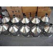 Trémie conique en acier inoxydable 304 / 316L