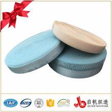 Farbiges, flaches, gewebtes, elastisches Band
