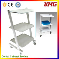 Dentist Tools Dental Office Cabinets with Trolley Wheel