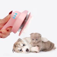 Haustierkamm aus Edelstahl Enthaarungskamm für Haustiere
