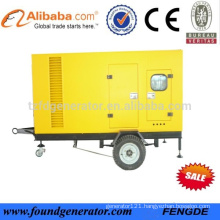 50KW Three Phase Portable Generator Price