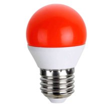 LED bombillas Color rojo G45 5W AC175 ~ 265V