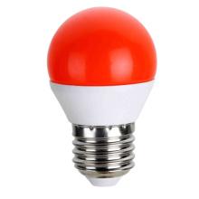 Ampoules de LED couleur rouge G45 5W AC175 ~ 265V