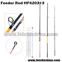 Chinese 4250mm 3+3sections 98% Carbon Feeder Fishing Rod