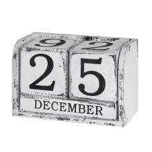 Wooden Decorative Calendar