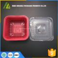caixa de almoço de embalagens de alimentos descartáveis de plástico