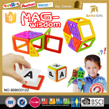 High quality pocoyo block game toys for kids mag wisdom building block