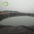Forro de tecido preto para lago