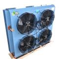 4 Fan Motors Heat Exchanger Air Cooled Condenser