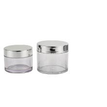 Tarro cosmético Tarro poner crema de cristal transparente de 100g