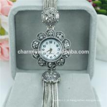 Produtos de venda superior 2016 Relógios de pulso de liga de quartzo de moda de luxo B019